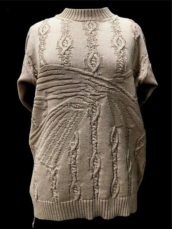 Designer: Grecia Rodriguez: knitGrandeur: FIT & Baruffa 2/30s Cashwool Collaboration 2016: Term Garment Project