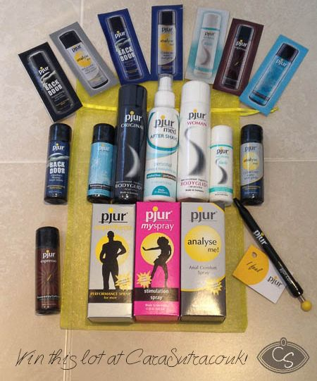 Re-pin this image to enter! Find out more on the competition post here http://wp.me/p2ofcb-3Sv 3 £100+ Pjur lube goody bags to give away. Ends 22 November. Open worldwide.
