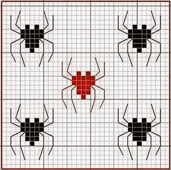 "Delicate Corner: Charts Cross Stitch ""Spiderman"""