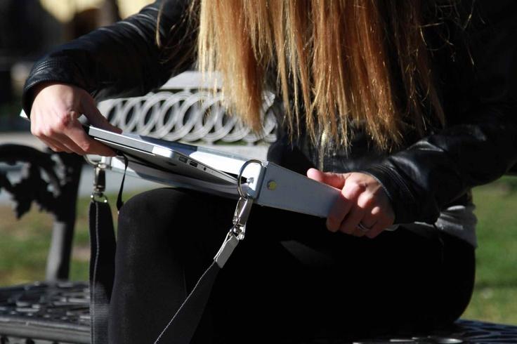 Aluminium bag for ultrabook & tablet!  FlapBag  www.harrierdesign.it