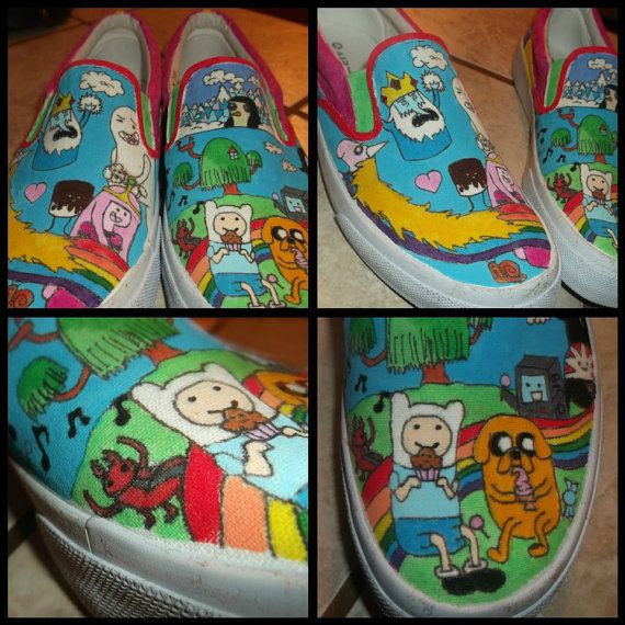 Community Post: 50 Unique And Wonderfully Geeky Hand-Painted Shoes