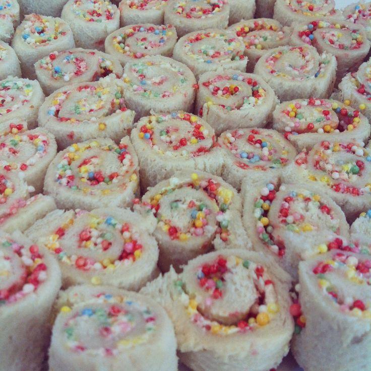 Fairy Bread Pinwheels - How to make?