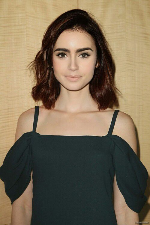 Lily Collins makeup inspiration