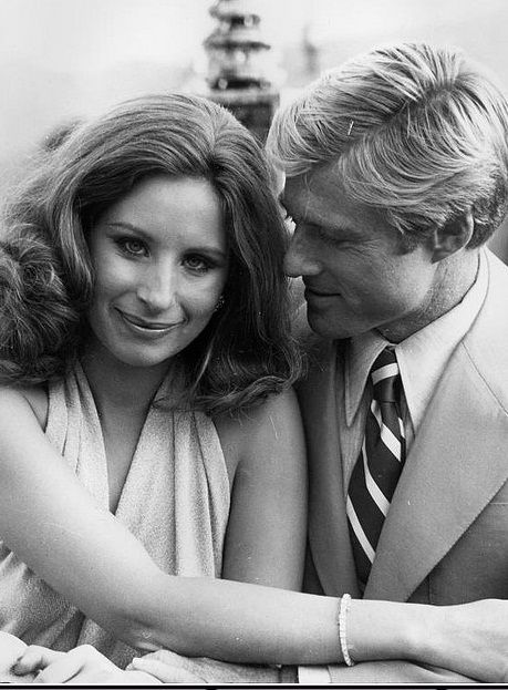 Barbra Streisand and  Robert Redford in 'The Way We Were'.  Absolutely loved this movie!  They were so very good together, in the movie.  ....