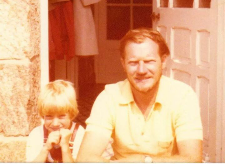 Thinking of Papa who left three years ago (10.04.1939 - 06.05.2014) The picture shows us during a summer holiday in France in the seventies. My band and I recorded a farewell song after he moved on... https://youtu.be/qjjZVL9mt_Q