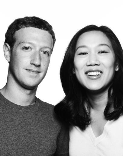 Priscilla Chan andMark Zuckerberg