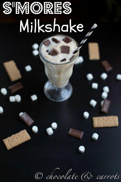 S'mores Milkshake ~ OH WOW THE DELISH!