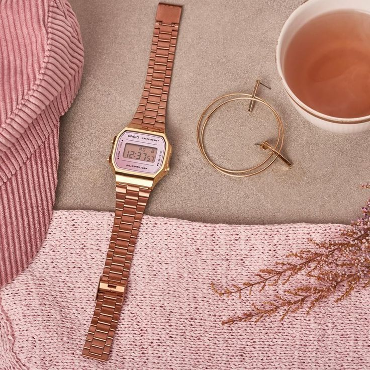 This Rosegold Beauty Fits With Almost Everything Casio Vintage Rosegold Rosegold Rose Pink Uhr Damen Woman Watch Regram Via Casio In 2020