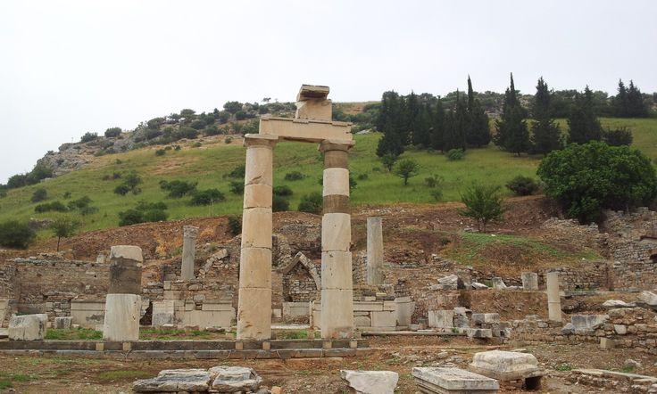 Ruins at Ephesus, Turkey.