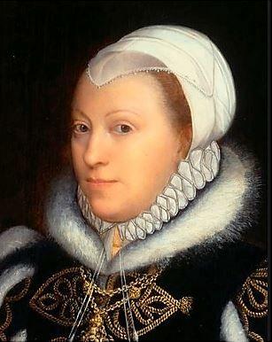 Alleged portrait of Catherine Carey by van der Meulen 1562