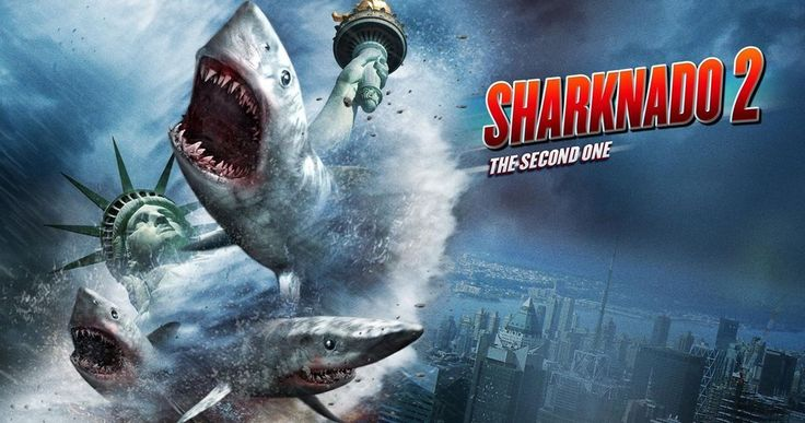 'Sharknado 2: The Second One' Trailer -- This summer's sequel to 'Sharknado' is bigger, bolder and even more ridiculous than the original, debuting on Syfy July 30th. -- http://www.movieweb.com/news/sharknado-2-the-second-one-trailer