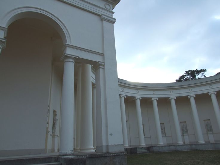 Apollo´s temple in Lednice- Valtice chateau area - courtyard
