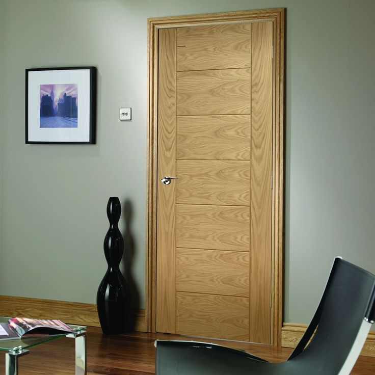 Bespoke Palermo Oak Fire Door - 1/2 Hour Fire Rated - Lifestyle Image.  #internalbespokedoor #bespokedoor #madetosizedoor