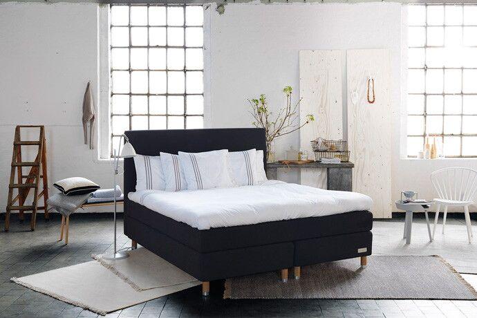 Bilder, Sovrum, Carpe Diem Beds of Sweden, Kontinentalsäng, Sängkläder, betong, Kudde, Säng, Sovrum - Hemnet Inspiration