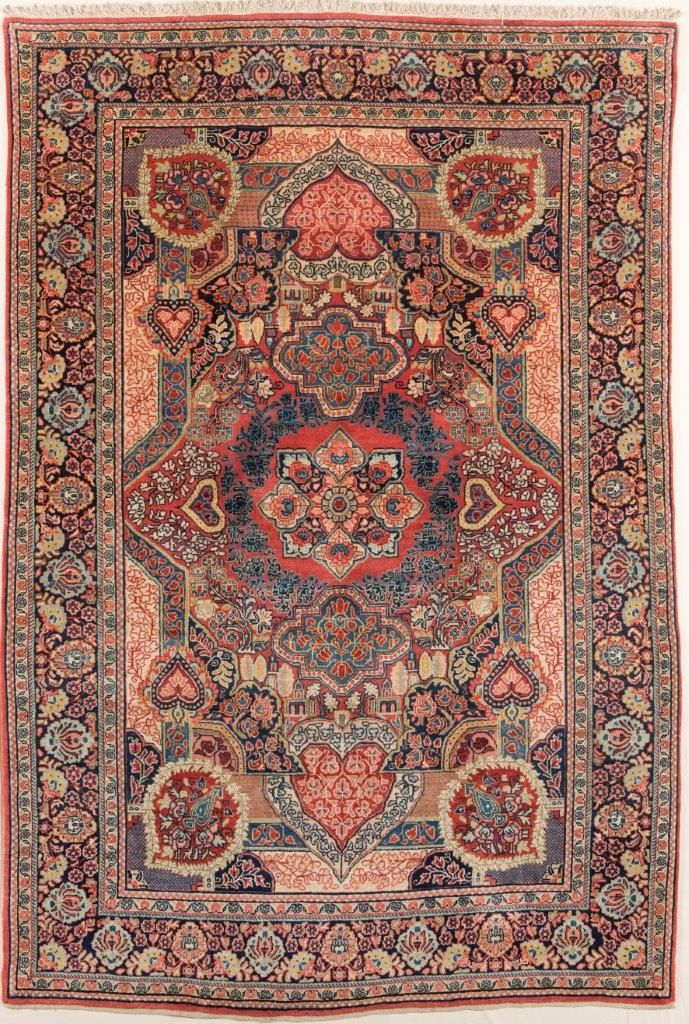 Persian Sarouk Rug 274 X 185cm London House Rugs
