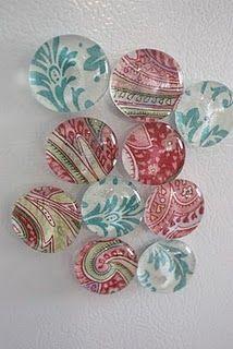 Pretty glass magnets tutorial