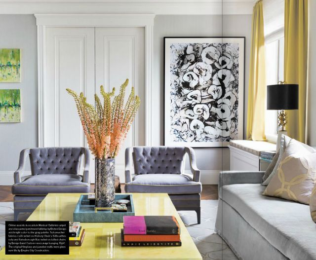 Celery Kemble. Great living room : Artsy spaces with wall frames   Daily Dream Decor