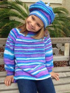 kötött pulóver, kislány pulóver