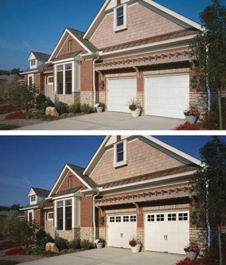 Garage Door Decor: 161 Best Garage Door Decorations And Makeover Images On