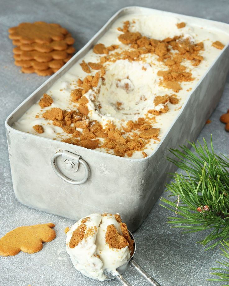 Ginger bread ice cream