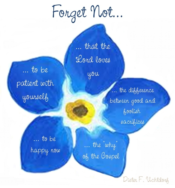 Forget Not....