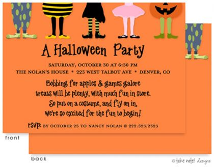 kids halloween party invite wording - Google Search