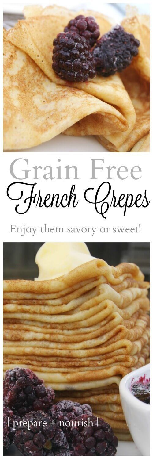 nice Grain-Free French Crêpes