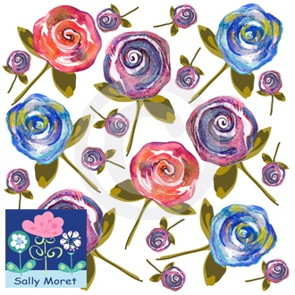 PRINT & PATTERNS – Check out my print & patterns designs at my website Sally Moret Designs.
