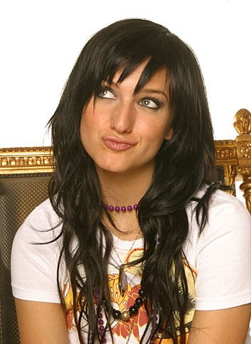 ashlee simpson short black hair wwwpixsharkcom