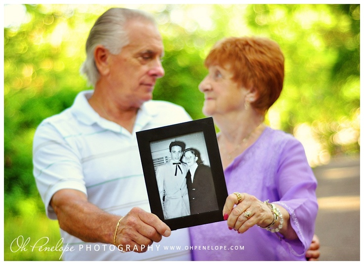 50th Anniversary--or any other anniversary; cute idea