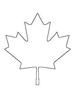 Canadian Maple Leaf Pattern