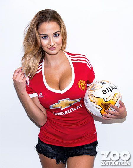 Hot manchester united girls football
