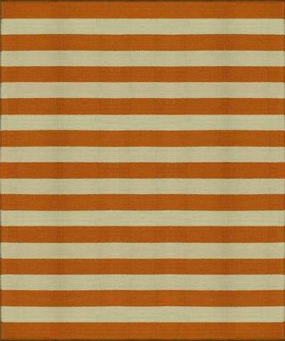 Dhurrie Stripe (Orange)