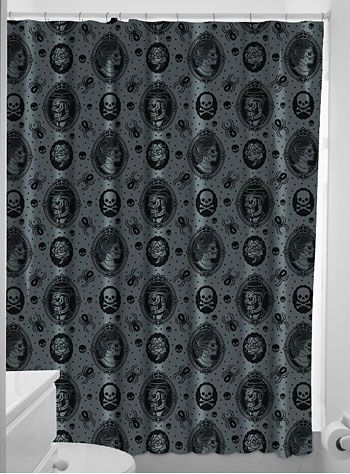 This screams Carson all over it. Victorian Zombies Cameo Shower Curtain at PLASTICLAND