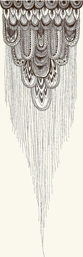 I would love this on the back of my neck coming down the centre of my shoulder blades.