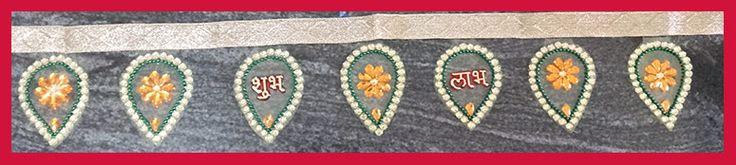 How to Make Kudan Handhanwar at Home - Diwali Decorations