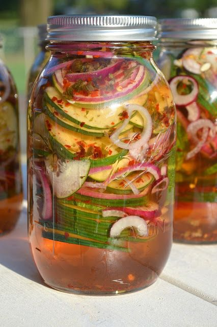 Quick & Easy Sweet & Spicy Pickled Cucumbers