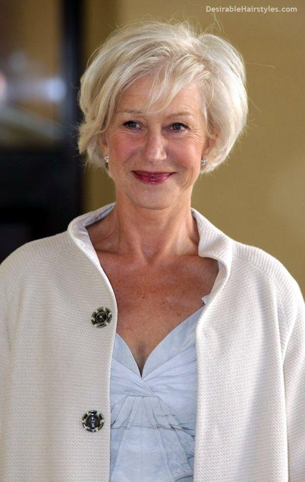 45 Short Hairstyles for Older Women Over 50 Short   Older ...