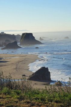 Harris Beach State Park in Brookings, Oregon.