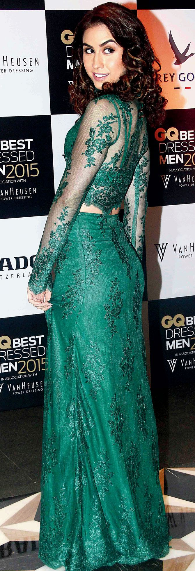 Lauren Gottlieb at the GQ Best Dressed Men 2015 - #GQBestDressed. #Bollywood #Fashion #Style #Beauty #Sexy #Hot