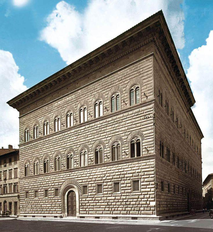 Palazzo Strozzi   Florence - Attributed to architect Giuliano da Sangallo (?) 1489