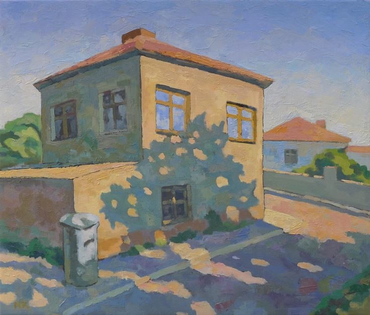 Haus in Czernomoretz | 70x60cm | oil