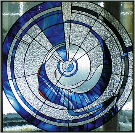 Available Work, contemporary stained glass - Lee Baldwin Art Portfolio