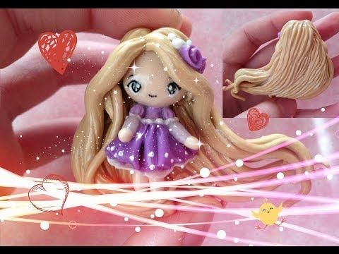 "Clay Tutorial: Rapunzel from ""Tangled"" - YouTube"
