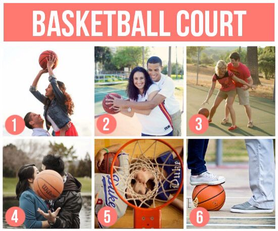 Location Ideas For Couple: Basketball Court