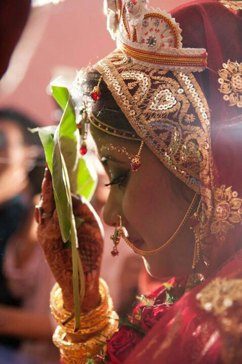 #Bengali wedding rituals