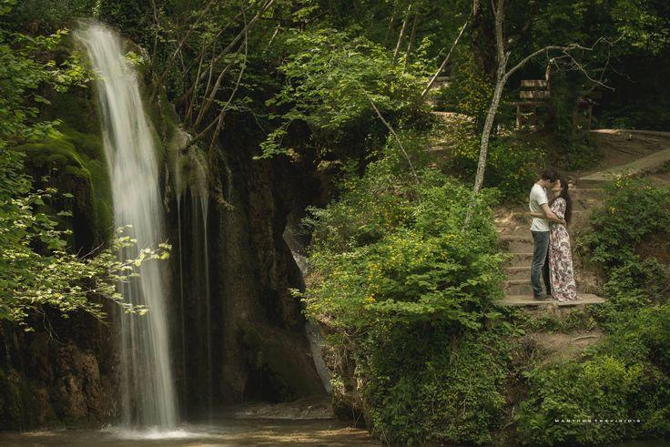 Waterfall romantic photo by Manthos Tsakiridis