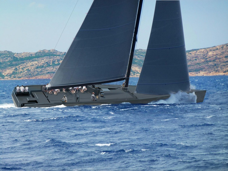 Wally launched Maxi racing yacht Wally//Otto photo