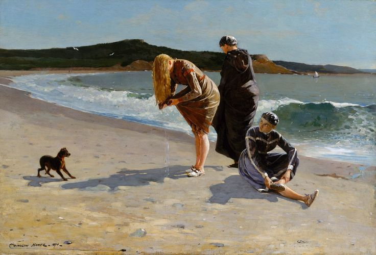 Winslow Homer  (American, Boston, Massachusetts 1836–1910 Prouts Neck, Maine)  Eagle Head, Manchester, Massachusetts, 1870