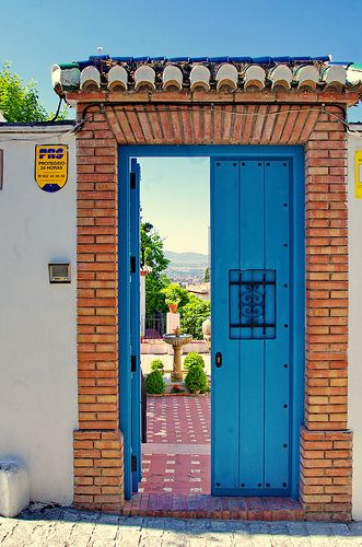 Grenade - Granada 472 El Albaicin, Carmen-Museo Max Moreau, Camino Nuevo de San Nicolás